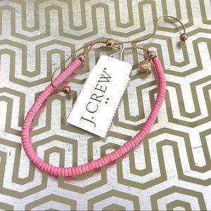 J. Crew Pink and Rose Gold Adjustable Bracelet NWT